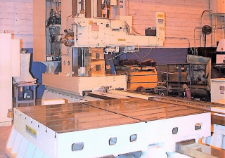 "6"" Giddings & Lewis G60-FX CNC Floor Type Horizontal Boring Mill"
