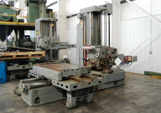 Giddings & Lewis 70A-DP4-T Manual Table Type Horizontal Boring Mill