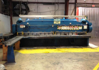 "Cincinnati 4316 16' x 3/8"" Mechanical Plate Shear"