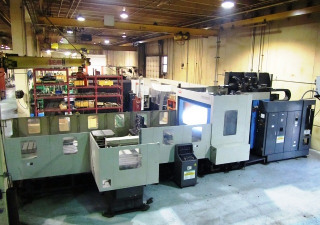 Toyoda FA800 CNC Horizontal Machining Center with APC