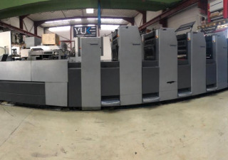 Machine d'impression offset Heidelberg SM 52-5P + LX