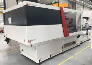 NEW Milacron Elektron EVO 450 - All Electric Injection Molding Machine