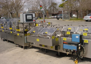 Mgs Hcm-750 Horizontal Continuous Motion Cartoner With Nordson Gluing