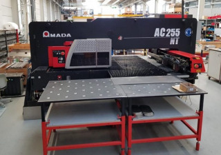 Cnc Punching Machine Amada Ac 255 Nt, 2007 Year