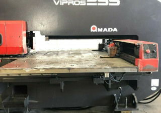 Amada Vipros 255 Cnc Turret Punch 20 Ton Press