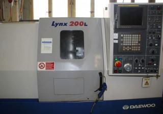 DAEWOO LYNX 200 LC CNC Lathe