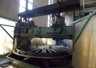 Wikkar BTNC 70 Flange Drilling Machine