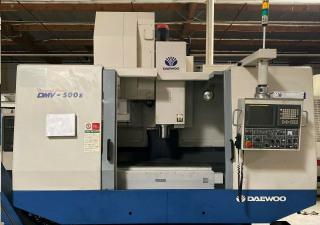 Daewoo Doosan Dmv-500S Vertical Machining Center
