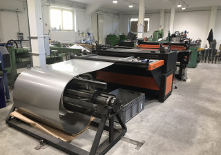 Schröder Ducter 1500 Cut To Length Line