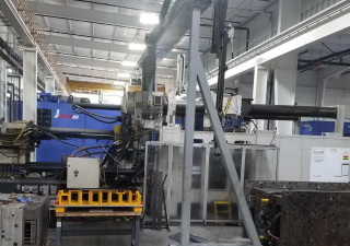 Used 3000 Ton Milacron Ml3000-362 Injection Molding Machine