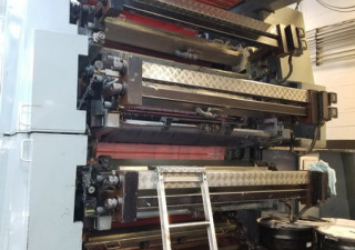 8 color CMF Central Impression Flexographic Press