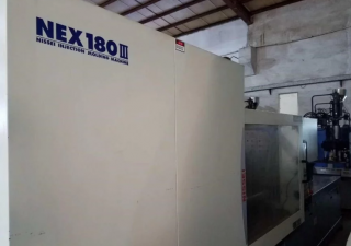 2 x Nissei NEX 180 All Electric Injection Moulding Machines (Year 2017)