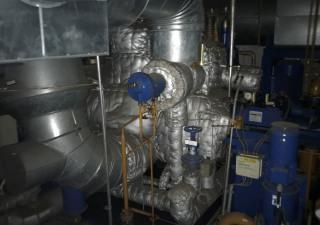 Steam Turbine Condensing  B + V Industrietechnik Typ KER45/100-6  / 5,46 MW