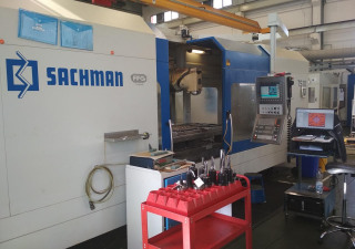 Centre d'usinage 5 axes (horizontal) Sachman TS10