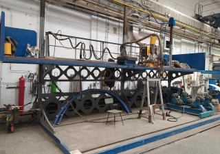 Portal welding machine KJELLBERG BEM-2UPS