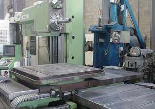"4"" Tos Varnsdorf Cnc Table Type Horizontal Boring Mill"