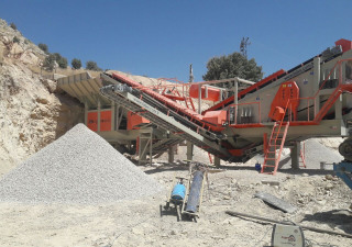 PRO-180 MOBILE CRUSHING & SCREENING PLANT | BIGGEST CAPACITY