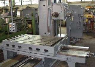 4″ Wotan Table-Type Horizontal Boring Mill