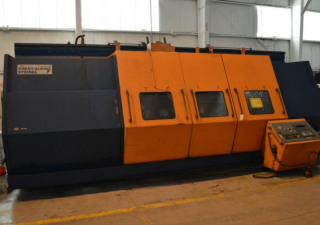 29.5″ X 118″ Voest-Alpine Steinel 6-Axis Hollow-Spindle Cnc Lathe W/Milling
