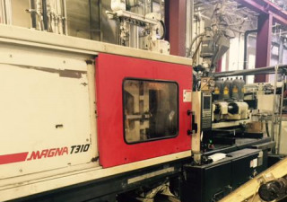 Used 310 Ton Cincinnati Mts310 Injection Molding Machine