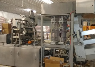 High Speed Cup Filling Line For 75Mm Juice Cups
