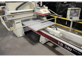 "Used Used Komo Model Vr510 Mach1, 60"" X 120"" Table, New In 2002"