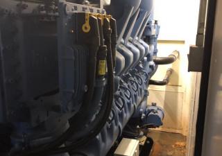 1850 kVA MTU 12V4000 Diesel Generator Set