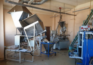 Used Instant Coffee Packaging Line With Capacity 100 Film Sachets Per Minute