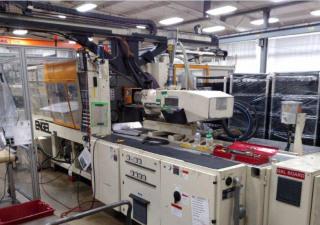 Used 300 Ton Engel Es330P 2-Shot Injection Molding Machine