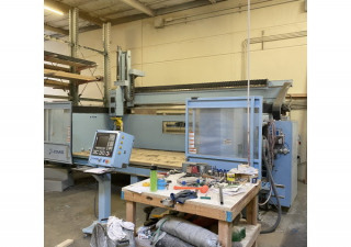 Used Dms 5 Axis Router, 5′ X 12′ Table, New In 2017