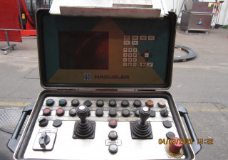 Haeusler VRM-HY 4 roll plate bender 3000 x 65 mm