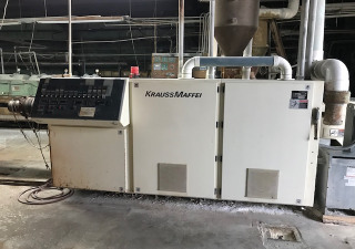 Krauss Maffei Kmd 90 Counter Rotating Twin Screw Extruder – New 2000
