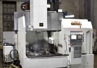 You Ji Yv-1200 Cnc Vertical Boring Mill