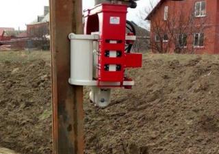 Vibro hammer OVR 70 SG excavator mounted
