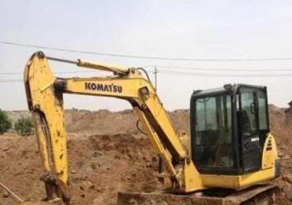 Used Komatsu excavator PC120-6 For Sell