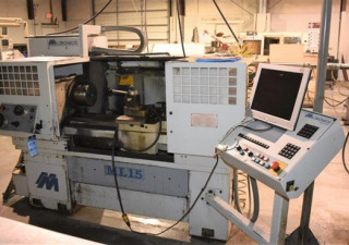 "15″ X 36″ Milltronics ""Partner Ml-15"" 2-Axis Combination Manual/Cnc Lathe"