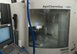 Cnc Machining Center Mikron Hsm500, 3 Axes, High Speed