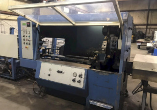 Used Simec Model Ciclomec 122 Cnc Automatic Cold Saw With 20′ Loading Rack, Stk# 10724, Year 2001