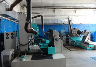 EDM (CNC600TA) machines for processing tire molds