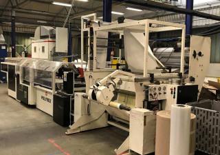 W&H POLYREX SF 3708 - Welding film bag making machine (LOOP HANDLES - STT – Punch)