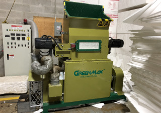 Recycling Machine of GREENMAX EPS Densifier M-C100