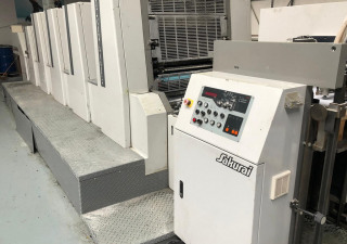 Sakurai Oliver 472 ED II  Printing machine - Four Colour + Coater