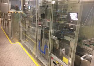 Uhlmann UPS5 ET / C2504 Blistering and Cartoning line Alu/Alu blisters (double chamber blister)