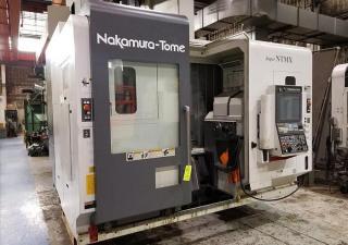 2017 Nakamura Tome Super Ntmx Cnc Multitasking Milling And Turning Center