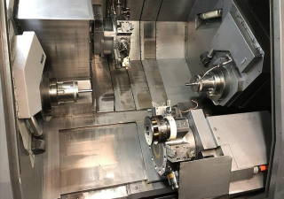 2005 Mori Seiki Zt2500Y 4-Axis Twin Spindle Twin Turret Cnc Lathe W/ Live Milling