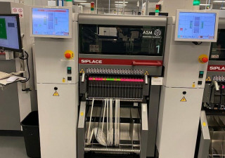 2018 Asm Siplace Tx2I Cp20 Heads (2X) High-Speed Pick & Place