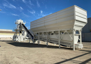120 M3/H CONCRETE BATCHING PLANT IN STOCK! READY FOR DELIVERY NOW!