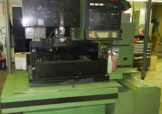 Sodick A500L Wire EDM Fully Operational Low hours excellent with spares, tooling 19.6x13.7x10.6 4 axis