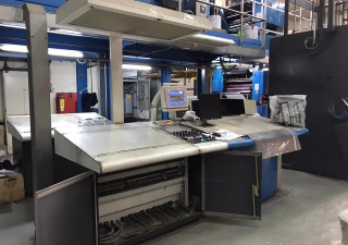 GOSS NEWS PAPER PRINTING MACHINE - SPECIAL REDUCED PRICE!!!