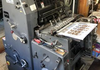 Heidelberg GTO46  Printing machine - One Colour